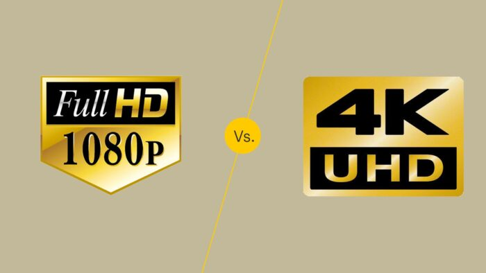 difference between 4K vs 1080p laptops