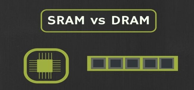 What is The Difference Between SRAM and DRAM