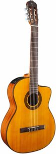 Takamine acoustic-electric classical guitar