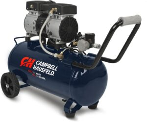 Campbell Hausfeld 8 Gallon Portable Quiet Air Compressor