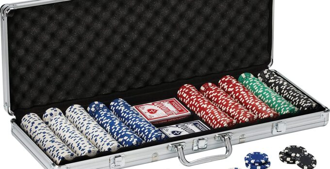 5 Best Professional Poker Chip Sets for Your Next Home Game